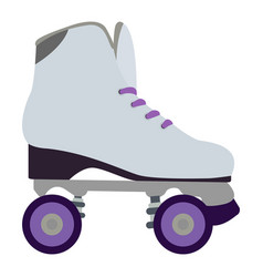 Isolated roller skate vector