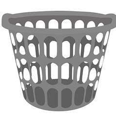 Laundry basket vector