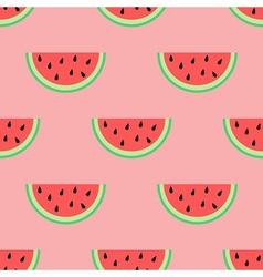 Watermelon slice vector image