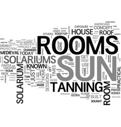 Are sun rooms safe text word cloud concept vector