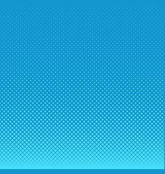 Light blue abstract geometrical halftone square vector
