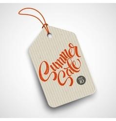 Summer sale grunge label vector