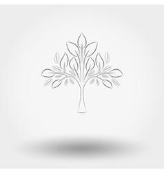 Tree Line vector image vector image