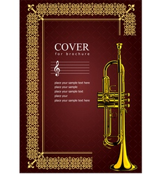 Al 0535 cover with trumpet vector