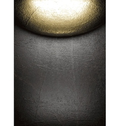gold and silver background vector image vector image