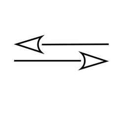 transfer icon vector image