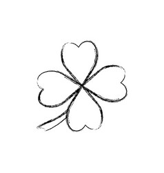 Clover luck leaf vector