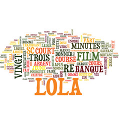 Le jeu roulette sauve lola text background word vector