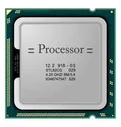 Processor computer hardware vector
