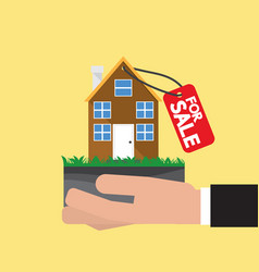 Real estate for sale vector