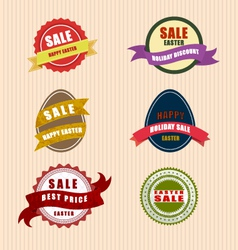 Happy easter sale vector image vector image