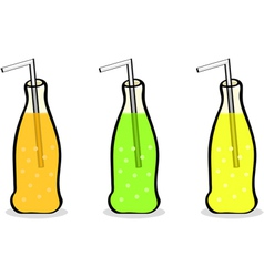 Soft drinks vector