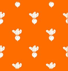 Fresh beetroot pattern seamless vector