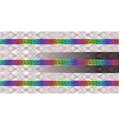 Rainbow hologram vector