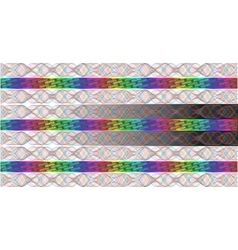 Rainbow Hologram vector image vector image