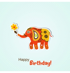 Template greeting card vector