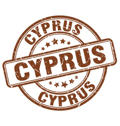 Cyprus stamp vector