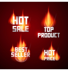 Hot sale best seller top product hot price titles vector
