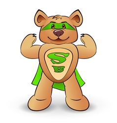 Super bear vector
