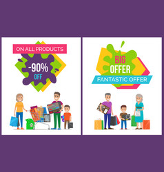 Big offer on all products vector