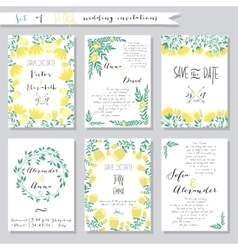 Collection of wedding vector