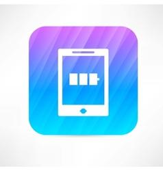 pad icon vector image
