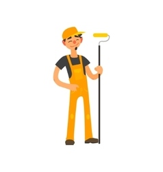Profession Painter vector image vector image