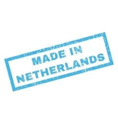 Made In Netherlands Rubber Stamp vector image