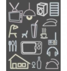 home light design vector image