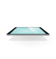 Tablet 3d isolated device with vector