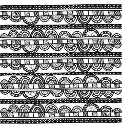Bohemian or boho style ornamental icon image vector