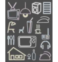 home light design vector image vector image