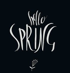 Springtime vector