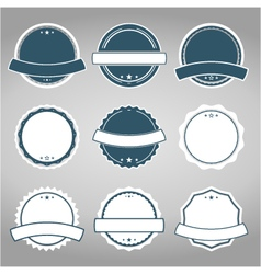 badges7 vector image vector image