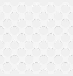 Seamless perforated circle pattern texture vector