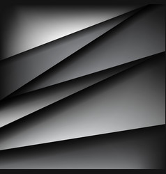 Triangles abstract art background vector