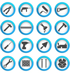 Home repair and renovation icon set vector