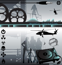 Music invasion vector
