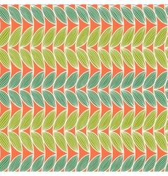 Horizontal abstract seamless pattern vector image