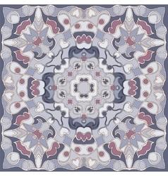 Square geometric pattern vector