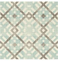 Diamond criss cross pattern vector image