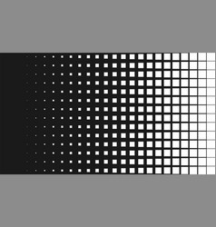 Halftone pattern background square spot shapes vector
