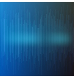 Abstract blue musical background vector