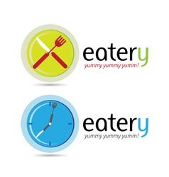 Eatery Logos vector image