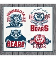 Logos for sport vector