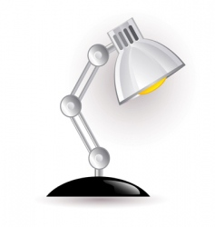 Night lamp vector