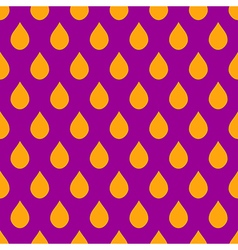 Orange Purple Water Drops Background vector image vector image