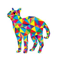 Geometric cat vector