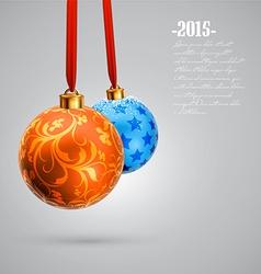 Christmas designs vector image