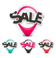 Sale Labels Set vector image